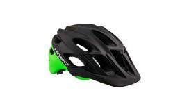 Шлем HQBC DUALQ, черный/зеленый матовый
