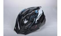 Шлем Moon MB11 черный/синий/белый