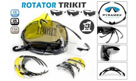 Очки Pyramex ROTATOR TRIKIT