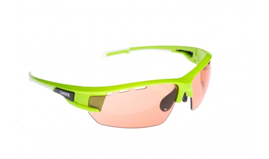 Очки Onride Lead матовый зеленый с линзами Orange (Cat.1)