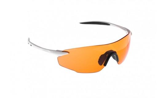 Очки Onride Possession матовый белый с линзами Orange (Cat.1)