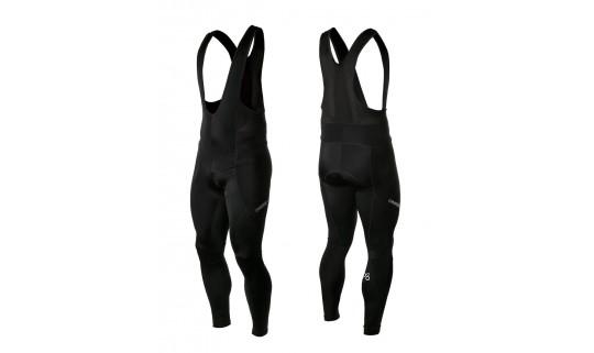 Велоштаны ONRIDE PEEL с лямками с памперсом, черный