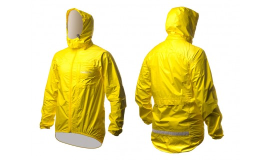 Ветровка, дождевик OnRide Rainfall желтый