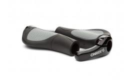 Ручки руля ONRIDE HornGrip 70 черный/серый
