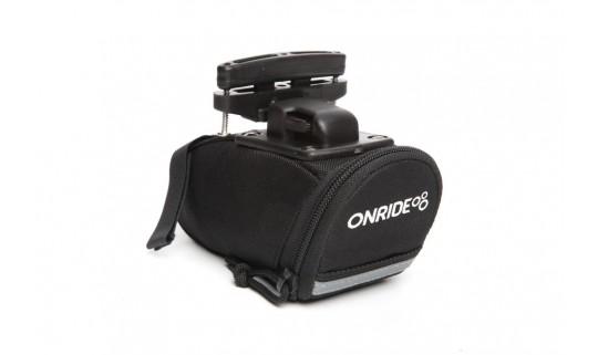 Сумка подседельная OnRide Seat T-System (объем 0,4 л) черный