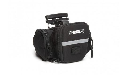 Сумка подседельная OnRide OnRide Seat D T-System (объем 1,2 л) черный