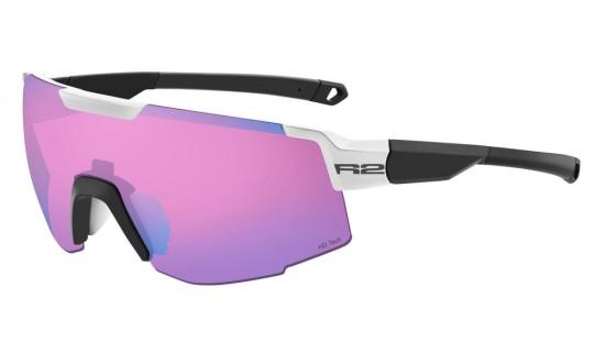 Очки R2 Edge AT101B черный / белый с линзой Pink Revo HD Tech (Cat.3)