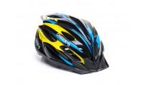 Шлем OnRide Grip глянцевый черный/жёлтый/синий