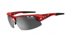 Очки Tifosi Crit Metallic Red с линзами Smoke / AC Red / Clear