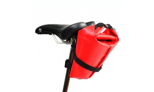 Сумка подседельная влагоотталкивающая Vincita B030WP-М красный