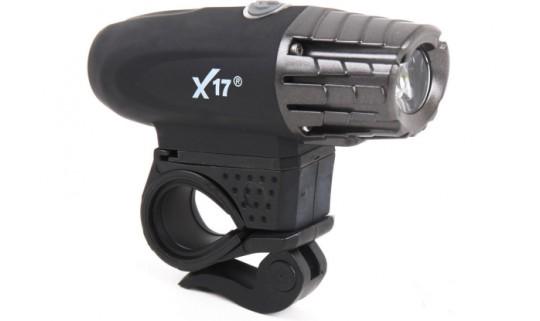 Свет передний X17 Alpha 3.7 3W, 1CREELED, 300 lumens, USB