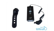 Свет передний X17 Alpha 3.8 5W, Samsung LED, 400 lumens, USB