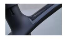 Комплект наклеек на раму Zefal SKIN ARMOR размер M, 12 (прозрачные)