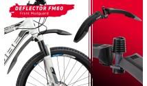 """Крылья Zefal 27.5-29"""" """"Deflector RS75-FM60 Set"""" (2533) пластик., черный"""