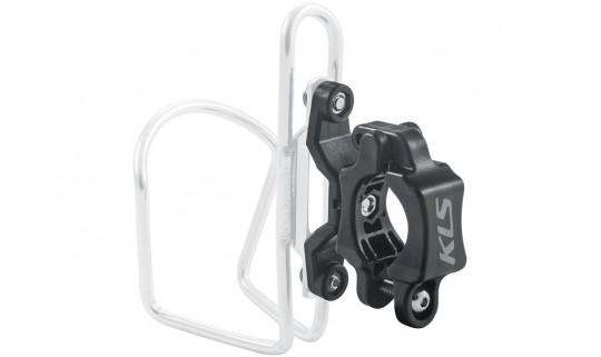 Адаптер флягодержателя KLS Slot на руль велосипеда черный