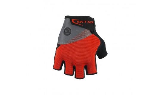 Велосипедные перчатки KLS Comfort 18 серый/красный