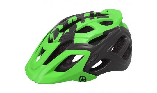 Шлем велосипедный KLS Dare 18 матовый зеленый/черный