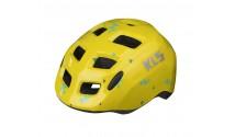 Шлем детский KLS ZIGZAG жёлтый XS (45-50 см)