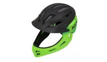 Шлем детский KLS SPROUT черно/зеленый