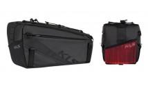 Сумка на багажник KLS Space 10 с мигалкой (объем 10 л)