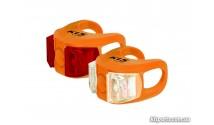 Мигалка KLS Twins набор оранжевый