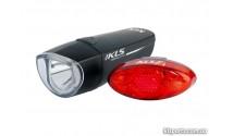 Свет передний и мигалка KLS Strike набор