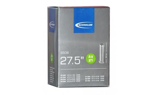 """Камера Schwalbe AV21 27.5""""x1.50-2.40"""" (40-62/584) AV 40мм"""