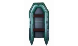Моторная надувная лодка Ладья ЛТ-290МВЕ со сланью-книжкой и передвижным сиденьем