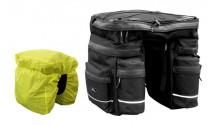 Сумка-штаны на багажник TRIPLE 42,5L черн, +чехол от дождя