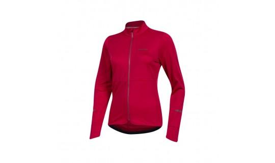 Велокуртка-дождевик женская PEARL iZUMi QUEST THERMAL, красный