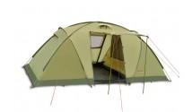 Палатка четырехместная Pinguin Base Camp Green, 4-местная (PNG 127.Green)