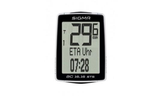 Велокомпьютер Sigma BC 16.16 STS проводной