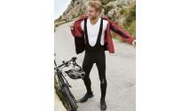 Велосипедная штаны Crivit Windstopper Bib, с лямками