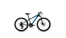 """Велосипед Ghost Kato Essential 24"""", рама one-size, синий, 2021"""