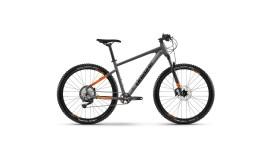 "Велосипед Haibike Seet 10 27.5"" 12-G Deore, серо-оранжевый матовый, 2021"