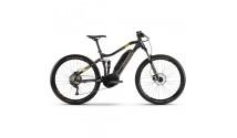 "Велосипед Haibike SDURO HardSeven 1.0 500Wh 10 s. Deore 27.5"", серо-лаймово-бронзовый, 2020"