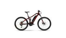 """Велосипед Haibike SDURO HardSeven Life 1.0 500Wh 10 s. Deore 27.5"""", рама M, вишнево-черно-красный, 2020"""