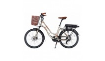 Велосипед Trinx E-MODE SELLA 2.0 Champagne-Gold 2021