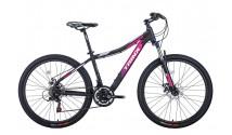 "Велосипед Trinx NaNa N106 26""x15.5"" Matt-Black-Pink-Grey 2021"