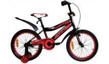 """Велосипед VNC 18"""" Breeze, 1817-GS, Черный / Красный 9.5"""""""