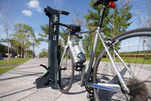 В Днепре появится бесплатная велоремонтная станция на Набережной Победы