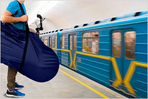 В Киевском метро позволили провозить бесплатно велосипед