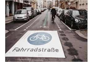 Велосипедистов в Берлине увеличилось на 25%