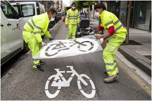 Велосипедное движение становится модным по всей Европе