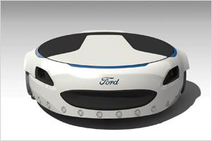 Форд разработал электрическую платформу для перемещения (видео)