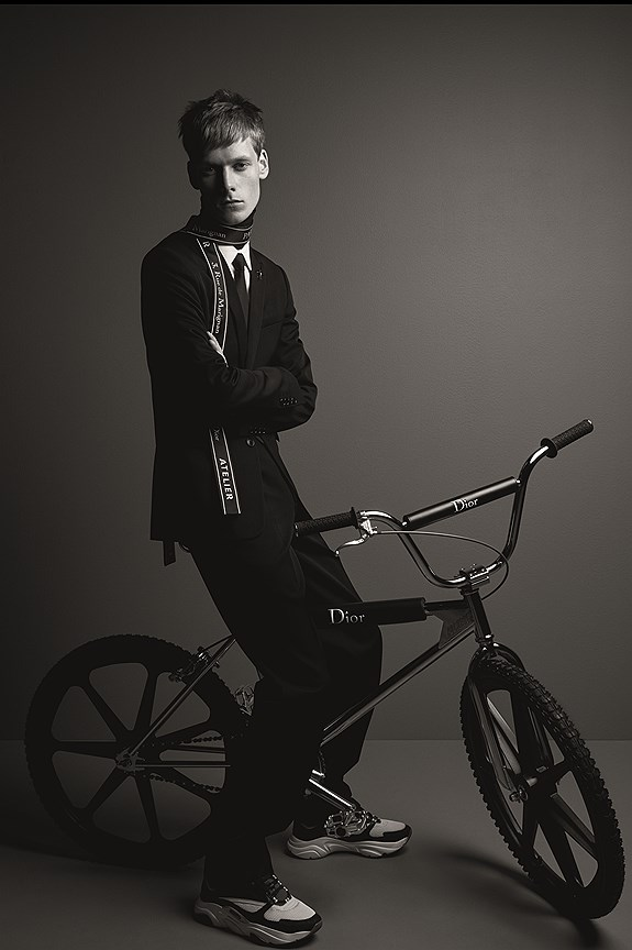Dior Homme Крис ван Аш